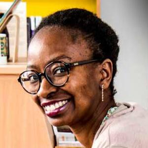 Celestina Jorge, boekhandelaar Pépite Blues, Elsene