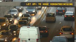 Let op: te hoge verontreiniging op de Brusselse Ring
