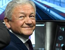 Federaal minister van mobiliteit François Bellot