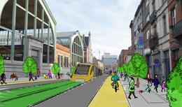 Tram Thurn & Taxis Picardstraat