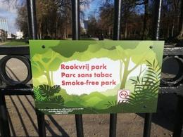 Wie verklaarde het Warandepark rookvrij?