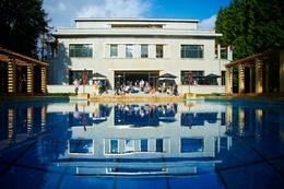 zwembad Villa Empain