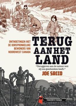 20210820 Terug aan het land cover Joe Sacco