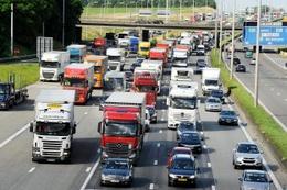 Verkeersfiles op de grote ring van Brussel (R0)