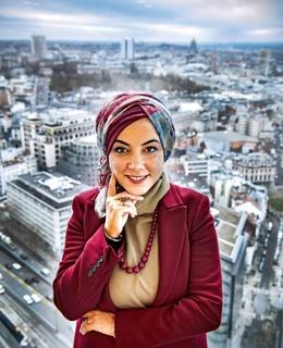 Fatima Zibouh leidt de antidicriminatiedienst van Actiris
